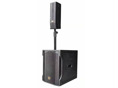 """科达 KD-30CL有源音柱 """"KD-30CL应用场合:非常适合大、中、小各种会议室,教室,车站,商场等场所;可用于户外演出,如乐队、酒会、文化沙龙等流动场合使用;该产品灵敏度高,功率大,对人声的解析力非常透彻,是语言扩声的最佳选择。配置了一只12寸超低音单元,增强超低频段,配合4寸单元音柱使用能收到意想不到的效果。高效的""""CLASS-D""""功放,具有功率大、失真小、重量轻、性能稳定的特点。 频率响应:40Hz-18kHz(±5dB-8dB) 灵敏度: 98dB(±3dB)/1W/1M 标称阻抗  8Ω 额定功率:600W"""