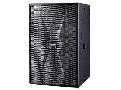 """科达 KD-12YL专业娱乐演艺音箱 """"高端娱乐演艺音箱,高音采用高端压缩驱动单元,低音采用铝短路环有效降低失真,提高单元性能力,差分驱动技术系统。专为娱乐项目场地设计。系统类型:2-way 1x12""""""""Full range system                                                                                                                              产品型号:KD-12YL"""