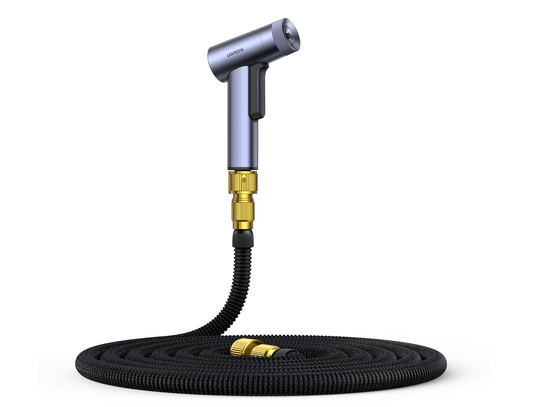 绿联(UGREEN) LP267 高压洗车水枪 材质:(PC+ABS)+铝合金+伸缩水管