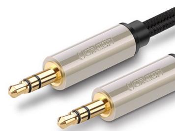 绿联(UGREEN)AV125 3.5mm公对公 镀银AUX线