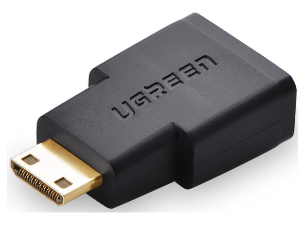 绿联(UGREEN)20101 Mini HDMI公转HDMI母转接头