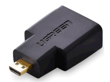 绿联(UGREEN)20106 Micro HDMI转HDMI转接头