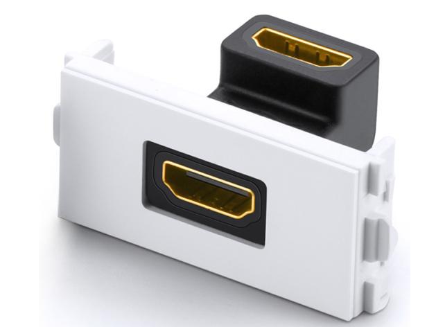 绿联(UGREEN)MM113 HDMI工程面板插座