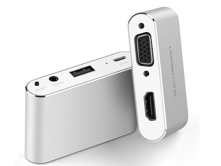 绿联(UGREEN)US228 USB多功能视频转换器