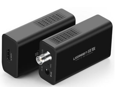 绿联(UGREEN)CM132 HDMI转SDI音视频转换器