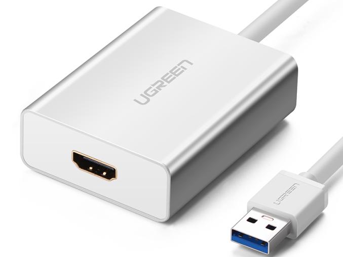 绿联(UGREEN)40229 USB3.0转HDMI转换器
