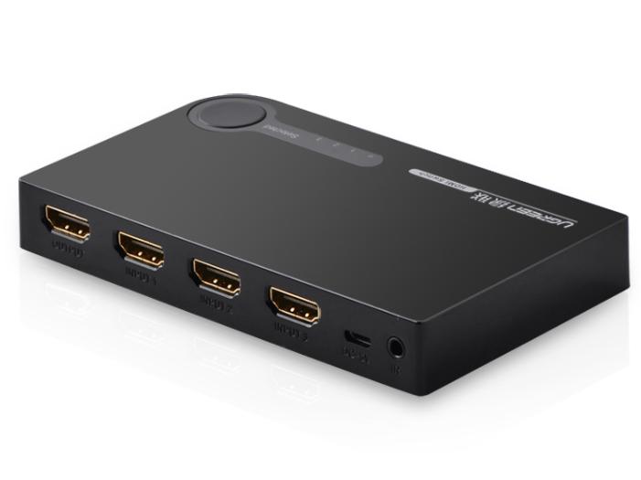绿联(UGREEN)40234 HDMI 3进1出切换器