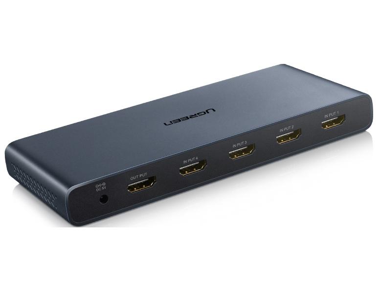 绿联(UGREEN)CM201 HDMI 4进1出 画面分割器