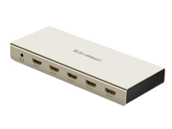 绿联(UGREEN)40277 HDMI 1进4出分配器
