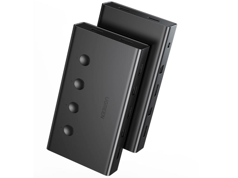 绿联(UGREEN)CM293 HDMI KVM切换器
