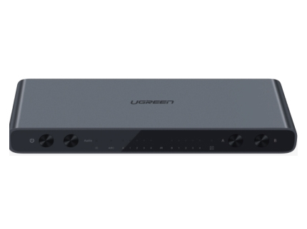 绿联(UGREEN)40216 HDMI 4进2出矩阵分配器