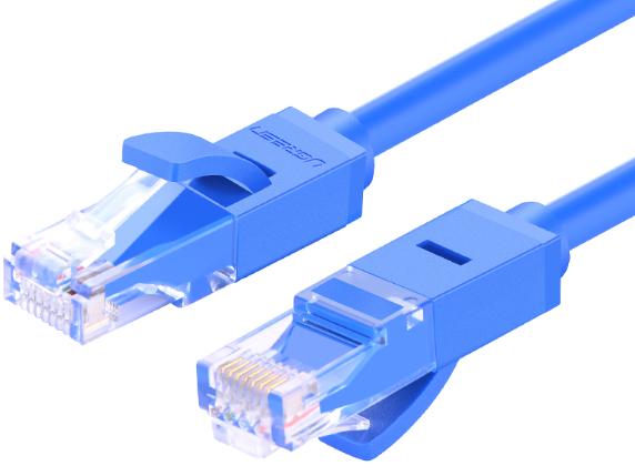 绿联(UGREEN)NW102 六类网线 蓝色 26AWG 铜包铝