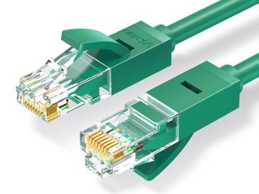 绿联(UGREEN)NW102 六类八芯双绞网线 绿色