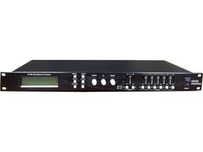 """科达  XP-20602进6出音频处理器 """"产品型号:XP-2060基于DSP技术的音箱处理器,高性能AKM A/D AK53923片24位高精度DSP低失真,大动态,频响:20Hz~20KHz,BS26是2输入,6输出,毎路输出可以任意选择输入组合。每一款都包括输入增益控制,每一个通道都包括独立的分频限制器。输入3段参量均衡,输出5段参量均衡,延时,最大7ms,输出增益及相位控制,参数加锁,避免误操作。usb接口实时控制,含PC软件。每一组参量均衡有31个(ISO)频率,-12dB到+12dB的增益。每一组Q值从0.5到10,并提供Hi-sh"""
