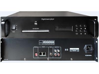 """科瑟  CD/DVD播放器 """"1. 1.5U标准机柜设计,高度铝合金面板; 2. 微电脑控制,轻触式按键操作; 3. 高亮度动态VFD荧光显示,电源指示灯; 4. 采用进口数码机芯,系统+ESS解码方案,超强纠错功能; 5. 通讯速度:9600bps; 6. 自动播放控制,全数码伺服; 7. 可播放:兼容DVD、CD、MP3、VCD、HDCD等多种格式光碟; 8. 1路音频信号左右声道(L /R)输出。内置自动播出控制,全数码伺服,支持DVD/VCD/CD/MP3, USB接口,系统+ESS解码方案,超强纠错功能,"""