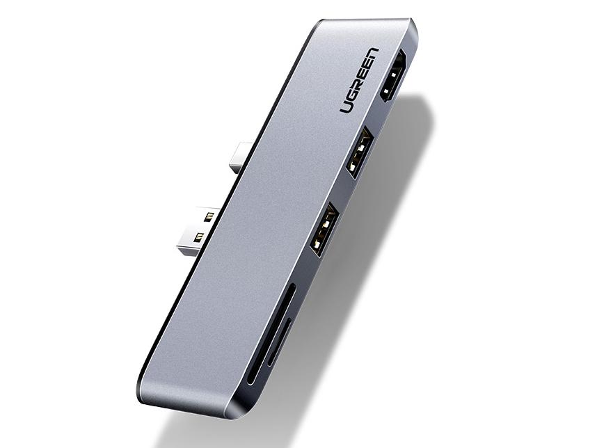 绿联(UGREEN)CM273 USB+Mini DP多功能转换器