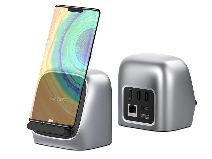 绿联(UGREEN)CM226 Type-C手机多功能扩展坞