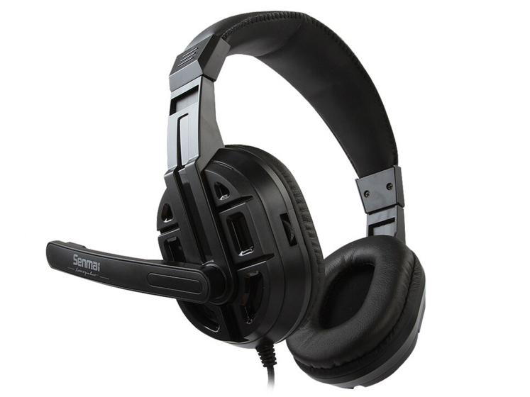 河南钧文科技新品推荐:森麦 SM-629 PC电脑游戏耳机 大客户专线:13253591688