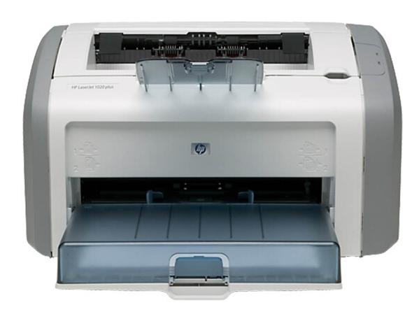 惠普(HP)LaserJet 1020 Plus 黑白激光打印机 小型商务家用办公A4迷你打印机