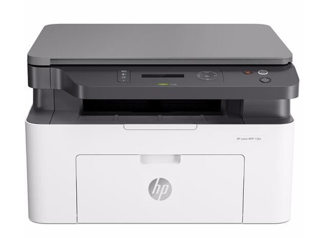 惠普(HP)136a激光打印机一体机黑白多功能复印机扫描仪