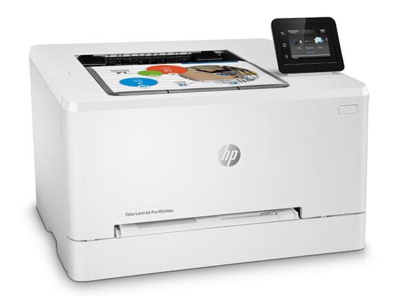 惠普(HP)Color LaserJetPro M254dw 彩色激光打印机 自动双面打印/无线wifi