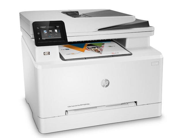 惠普(HP)M281fdw自动双面彩色激光打印机一体机 无线网络打印复印扫描传真