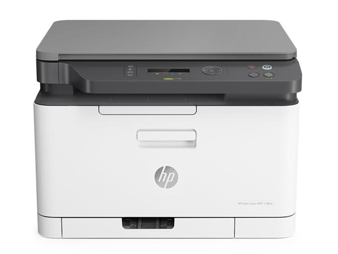 惠普 (HP) 178nw 锐系列新品 彩色激光多功能一体机三合一打印复印扫描无线