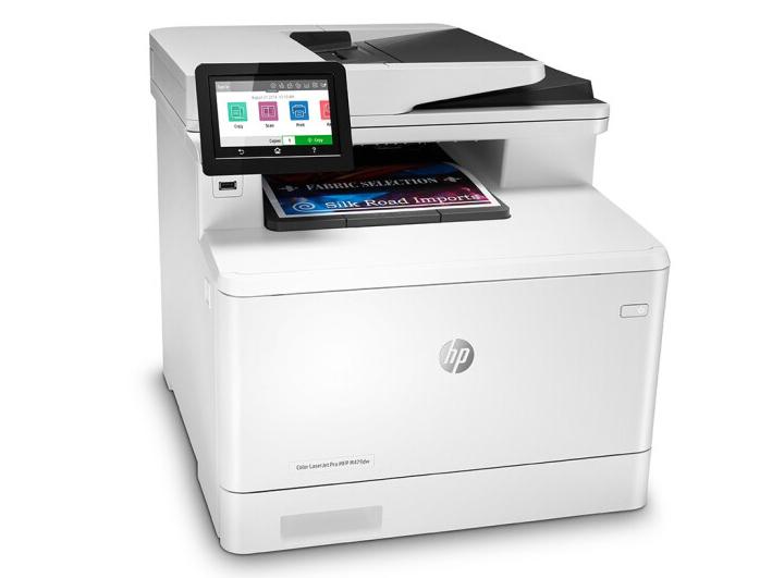 惠普(HP)479dw打印机A4彩色激光多功能打印复印扫描一体机