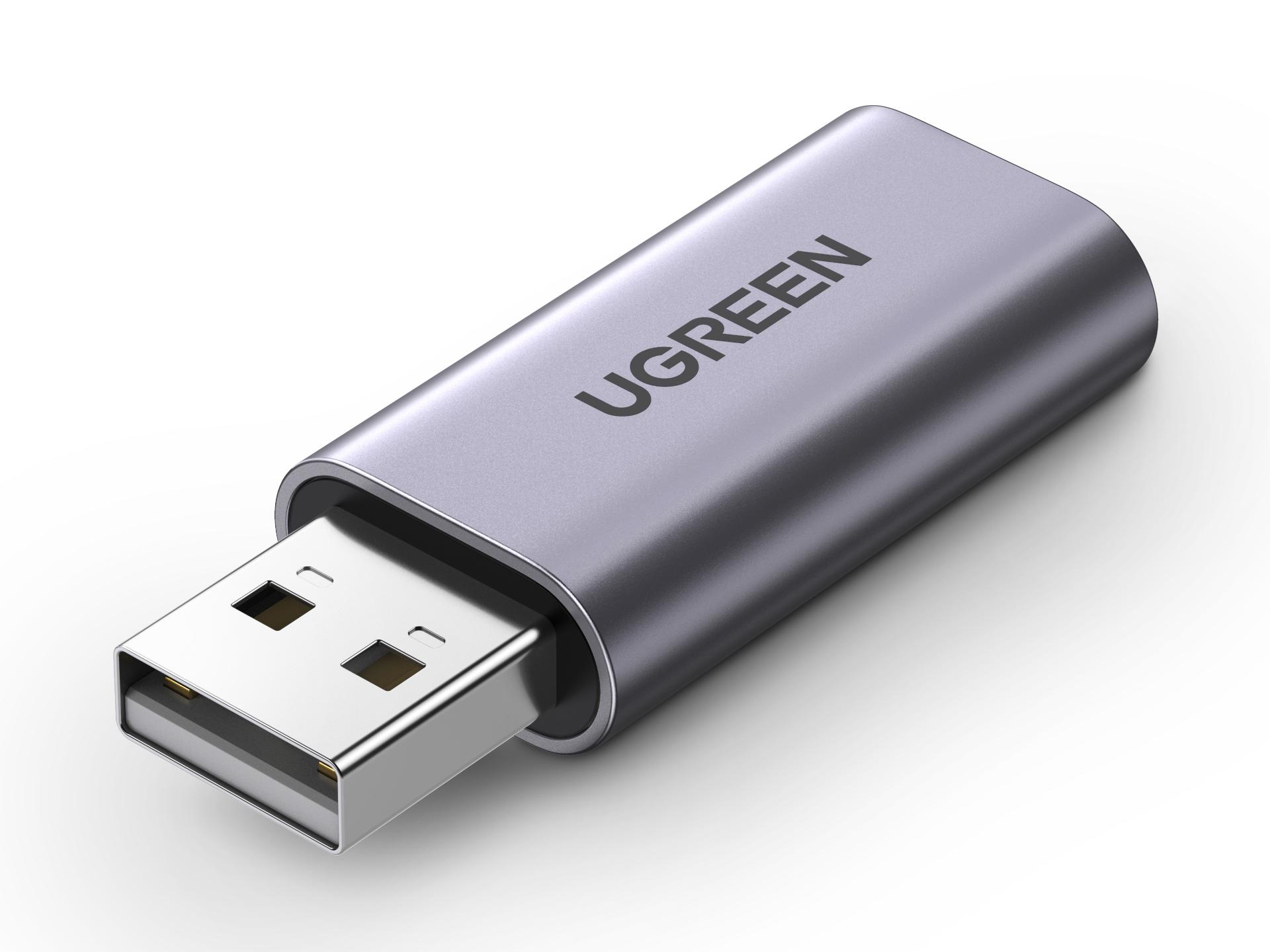 绿联(UGREEN)CM383 USB 2.0外置声卡