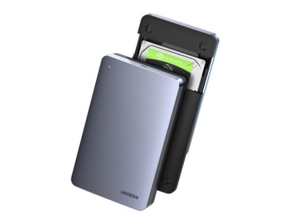 绿联(UGREEN)CM300 2.5英寸SATA移动硬盘盒