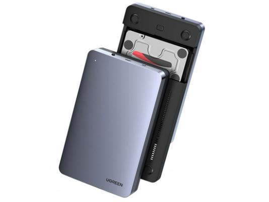绿联(UGREEN)CM301 Type-C(USB 3.1 GEN2)3.5英寸硬盘盒