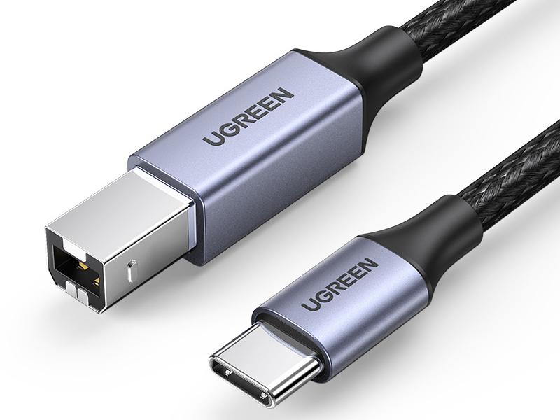 绿联(UGREEN)US370 Type-C转USB B公打印线