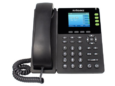 FIP13G一款是专为办公室工作人员设计的高端千兆彩屏话机。搭载2.8英寸LCD彩屏,支持4个SIP账号以及4个线路,高清语音通话,PoE供电和2.4G无线连接。还提供了丰富的接口,比如双千兆网口,USB 2.0接口以及RJ9耳麦接口。