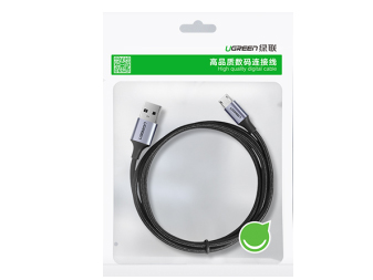绿联(UGREEN)US290 USB2.0转Micro USB铝壳数据线