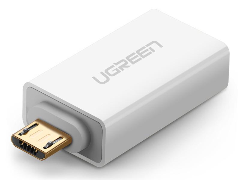 绿联(UGREEN)US195 Micro USB转USB2.0转接头