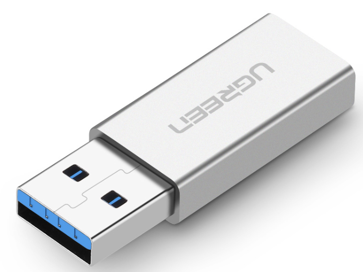 绿联(UGREEN)US204 USB3.0转Type-C2.0母转接头