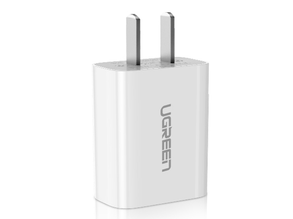 绿联(UGREEN)CD143 单口USB充电器 直插款