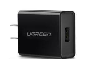 绿联(UGREEN)CD122 FCP/QC 3.0快充充电器 直插款