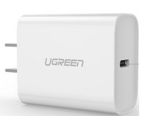 绿联(UGREEN)CD137 Type-C单口PD18W充电器 直插款