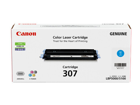 佳能(Canon)硒鼓CRG307 C青色(适用LBP5000/LBP5100)