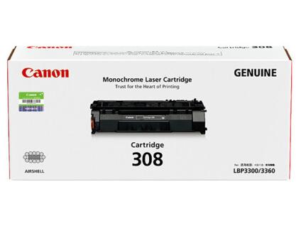 佳能(Canon)硒鼓CRG308 标准容量 黑色(适用LBP3300/LBP3360)