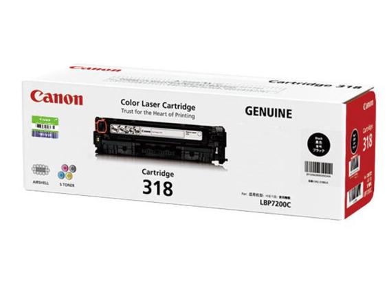 佳能(Canon)硒鼓CRG318 BK 黑色适用LBP7200Cd/7200Cdn/7660Cdn