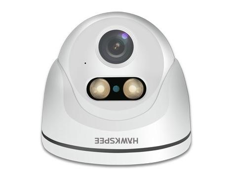 黑鷹威視 HV-K7-E50X-Y【500萬智光全彩音頻半球】 AI智光全彩半球機