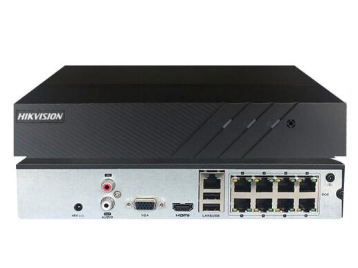 海康威视DS-7808NB-K1/8P网络监控硬盘录像机 8路H.265编码高清