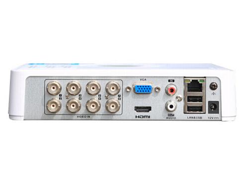 海康威視硬盤錄像機同軸模擬網絡混合型監控硬盤錄像機 監控攝像頭視頻線傳輸高清刻錄機 8路(DS-7108HGH-F1/N)