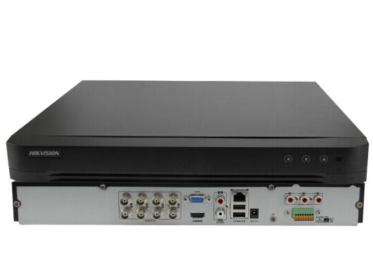 海康威视路硬盘录像机DS-7808/16HQH-K2同轴模拟四合一混合录像机8/16路