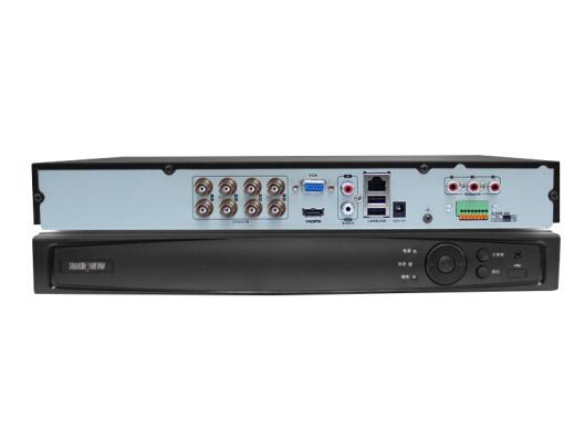 海康威视DS-7808/16HGH-F2/N硬盘录像机同轴模拟网络混合监控主机