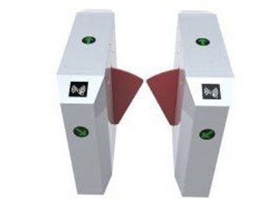 """桥式八角翼闸         HY-Q03 """"伸缩臂长:250(mm) 最小通道宽度:500mm 工作电压:AC220V±10\%    50±10\%Hz 驱动电机:直流有刷电机(24V) 工作环境:室内、室外(阴棚) 温度:-10℃~50℃ 通行速度:40人/分钟(常开),25~30人/分钟(常闭) 出现故障后的自动复位时间:10s 通讯接口:标准RS485接口,距离≤1200m """""""