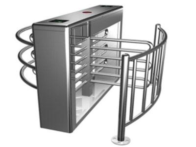 """半高转闸门HY-BG01 """"闸杆长:600(mm) 重量:100kg 左右闸杆转向:单向、双向(可选) 工作环境:室内、室外(阴棚) 特点:防锈、坚固耐用,该设备使用简单、无维护。"""""""