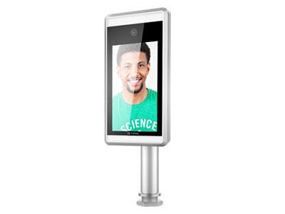 芊熠  LG01(闸机式) 7寸高清显示屏,支持单目活体检测,30000人脸库,嵌入式Linux系统,高达99.9%的人脸识别准确率